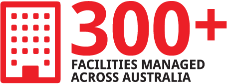 300 + facilities managed