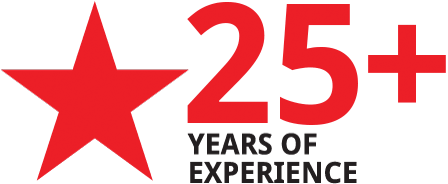 20 + years experience